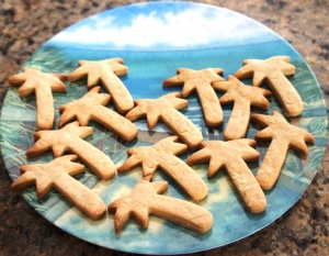 rum and honey shortbread